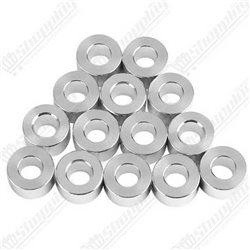 Potentiomètre 500K linéaire 15mm avec écrous et rondelles
