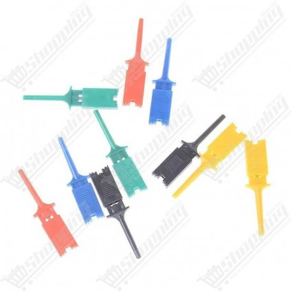 1 unité Crochet de test rectangulaire en plusieurs couleurs