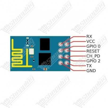Module ESP8266 ESP-01 remote serial port wifi