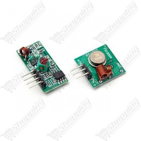 Module RF wireless receiver + Module transmitter 433Mhz 5V