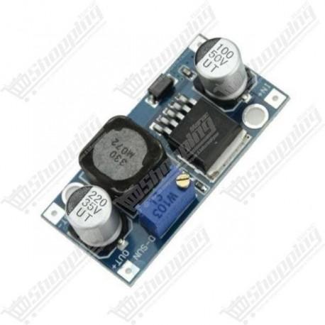 Alimentation ajustable module LM2596 DC - DC step down 5-24V