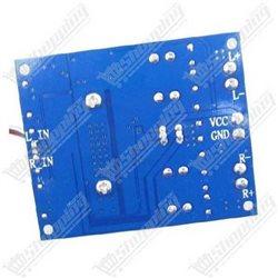 Plaque d'essai pastillée 2x8cm double face 2.54mm pcb