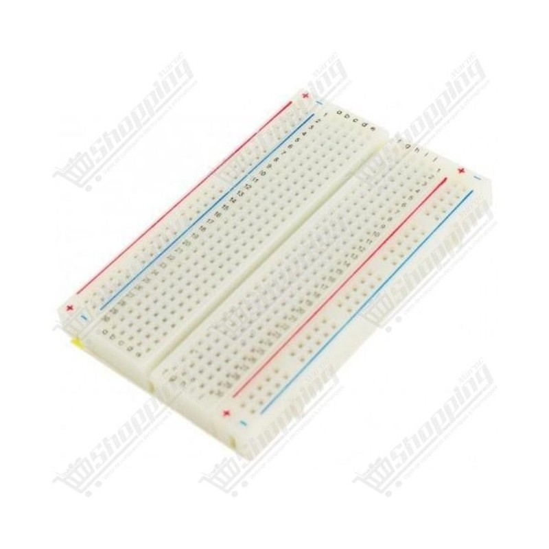 Plaque d'essai mini breadboard 400 points