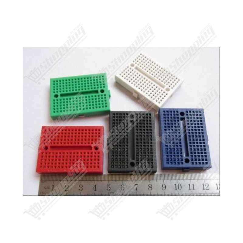 Plaque d'essai mini breadboard 170 points