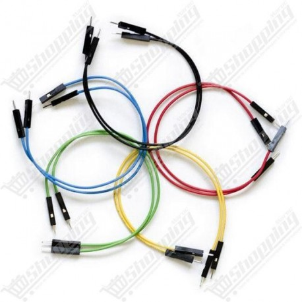 1xJumper Cable DuPont femelle/femelle 20cm cable 2.54mm