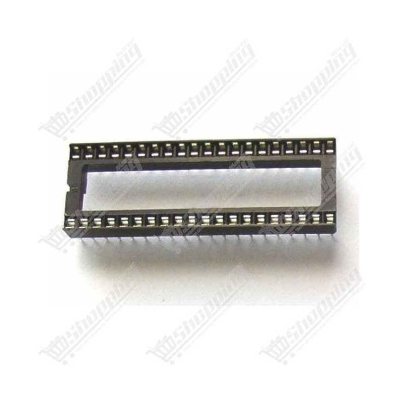 Support CI 40 broches DIP-40 microcontrolleur
