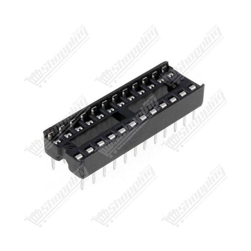 Support CI 24 broches DIP-24 microcontrolleur