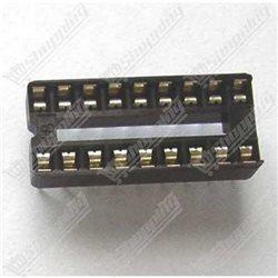 Header connecteur 2.54mm 1x40 pin simple ligne mâle noir