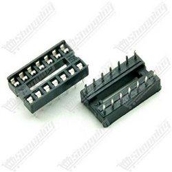 Header connecteur 2.54mm 1x40 pin simple ligne femelle