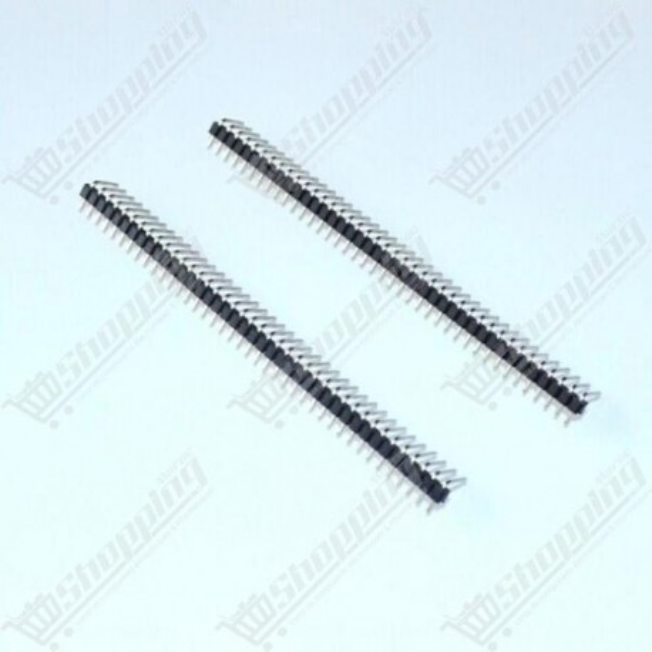Header connecteur 2.54mm 1x40 pin simple ligne mâle angle droite