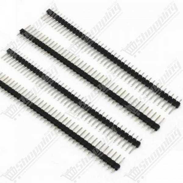 10x3P DuPont tête connecteur plastique 2.54mm