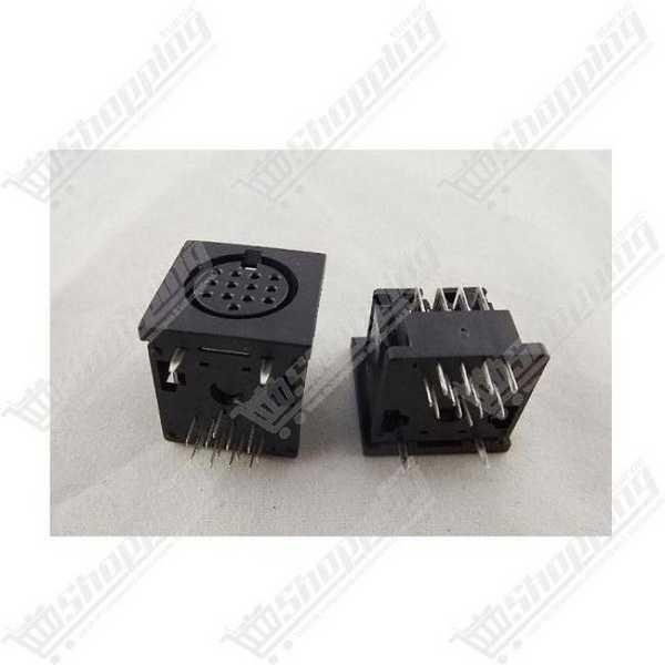 10x1P DuPont tête connecteur plastique 2.54mm