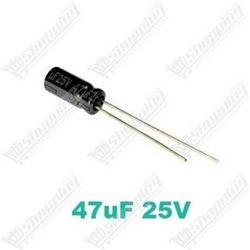Condensateur chimique 10uF 50V 105° 4x7mm