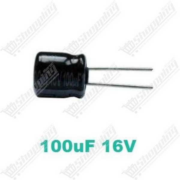 Condensateur chimique 4.7uF 50V 105° 4x7mm
