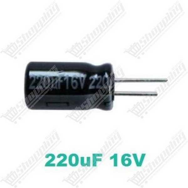 Condensateur chimique 1uF 50V 105° 4x7mm