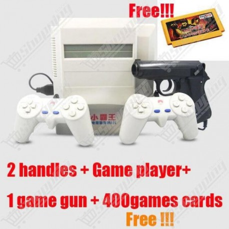 Vidéo game console 8 bits + cartouche all in one 400 jeux