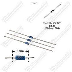 Quartz crystal passive 4.000MHz DIP-2