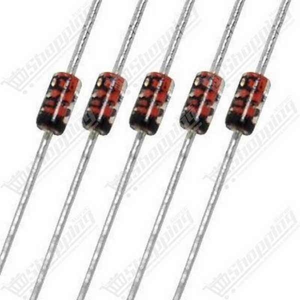 Quartz crystal passive 8.000MHz DIP-2
