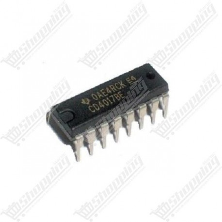 IC CD4017 4017 decade counter divider DIP-16