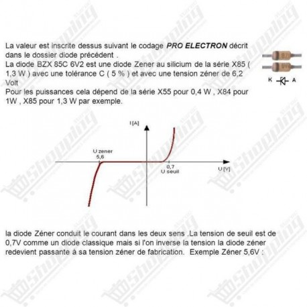 Diode Zener 1/2W 0.5w 24V